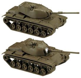 181 M60A1 (top) M60 (bottom)