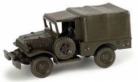 Dodge 3/4ton 4x4 Weapons Carrier. Roco Minitanks 225 Herpa 743570