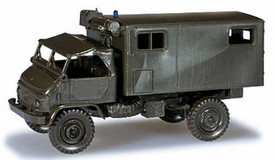 Unimog S404 ambulance. Herpa 743907 Roco Minitanks 241 HO 1/87 Scale