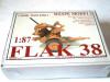German WWII Flak 38 AA Gun. Wespe 87011, Box