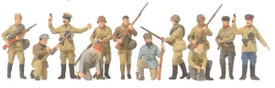 16530 Russian partisans painted
