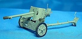 German 75mm PAK 97/38 AT Gun. Trident 87071 New 1/87 Scale Resin Kit Unfinished