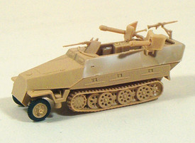 SdKfz 251/16 D Half Track w/Flamethrower. Trident 90128 New 1/87 Scale
