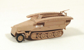 Sd.Kfz. 251/7 D Engineer Half Track. Trident 90127 New 1/87 Scale Unfinished Kit