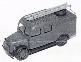 Steyr 1500 TLF Luftwaffe Firetruck #91502