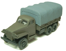 Studebaker 3t Flatbed Canvas Top, ADP 16180 New 1/87 Scale Plastic kit