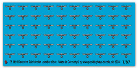 1698 German Reichsbahn silver eagle