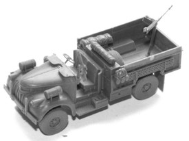 LRDG Chev. 1533x2 3t Truck Arsenal-M 116200101 Resin 1/87 Scale Unfinished