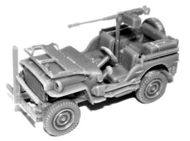 Willy's Jeep w/50 cal. MG #114201081