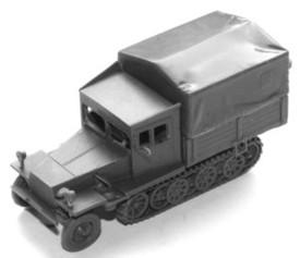 German Halftrack / Prime Mover Sd.Kfz. 11. Arsenal-M 112100531 Resin 1/87 kit