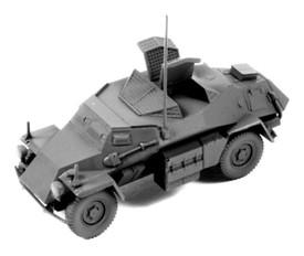 Sd.Kfz.260 small armoured radio vehicle, Arsenal-M 112200941 New 1/87 Scale