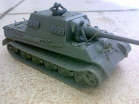 Jagdtiger Old Suspension Zimmerit. Arsenal-M 112100983. Unfinished Resin Kit