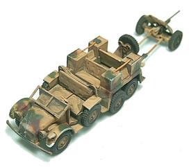 L2 H43 Krupp Protze w/37mm Gun  Arsenal-M 112200011 New 1/87 Resin Kit