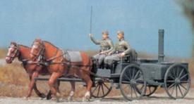 Reich Horse Drawn  Field Kitchen. Preiser 16507 New 1/87 Plastic Kit Unfinished