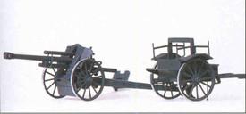 German WWII Light Feild Howitzer 10.5cm Accessories Preiser 16527 New 1/87 Scale