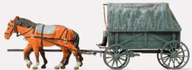 16588 Horse drawn wagon
