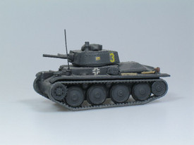 German PzKpfw 38(t) Ausf C, SDV 87002 Unfinished Plastic Kit. 1/87 Scale NIB