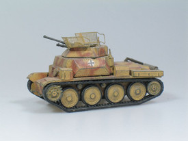 German WWII, PzKpfw 140/1 38(t) Recon Vehicle. SDV 87011. Unfinished Plastic Kit