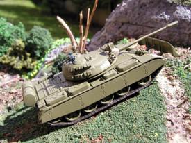 Soviet T-55M, Main Battle Tank. SDV 87032 Unfinished Plastic Kit 1/87 Scale New