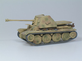 Sd.Kfz.138 Ausf H Marder III. SDV 87034 Unfinished Plastic Kit 1/87 Scale New
