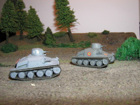 Czech AH-IV-R (2 in 1) Light Tank. SDV 87041 Unfinished Plastic Kit 1/87 Scale N