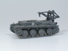 Panzer 38(t) Armored Recovery Vehicle SDV 87063 Unfinished Plastic Kit 1/87