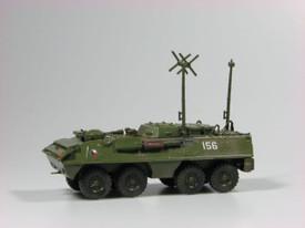 Eastern Bloc APC OT-64 R3 Armoured Command Post SDV 87098 Unfinished Plastic Kit