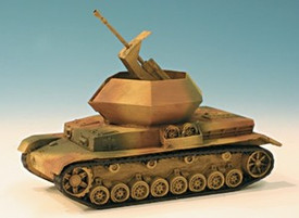 Panzer IV Ostwind Anti Aircraft Tank. Trident  87015 New 1/87 Scale Resin Kit