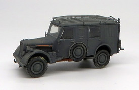 Kfz 17/1 Radio Truck. Trident 87110 Resin 1/87 Scale Kit Unfinished