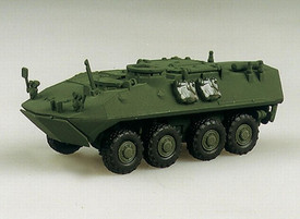 LAV-M Light Armored Vehicle Mortar Carrier, Trident 90012 Plastic Kit 1/87 Scale