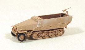 SdKfz 251/2 Ausf.D Half Track Mortar Carrier. Trident 90091 New 1/87 Scale Plast