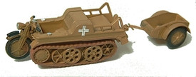 Kettenkrad NSU HK-101, Tracked Motorcycle Trident 90124G New 1/87 Scale Plastic K
