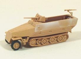 Sd.Kfz. 251/10 Ausf.D Half Track w/3.7 cm PaK. Trident 90156 New 1/87 Kit