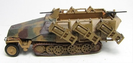 SdKfz.251/1 II, Ausf D Half-Track Rocket Launcher. Trident 90155 New 1/87 Scale