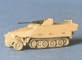 Sd.Kfz. 251/17 Anti-aircraft Half Track with 20mm Gun. Trident 90189 New 1/87 Sc