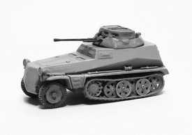 Sd.Kfz. 250/9 Recon Variant With a 2 cm Gun. Trident 90306G New 1/87 Plastic Kit