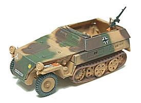 SdKfz 250/7 Light Half Track w/Mortar. Trident 90327 New 1/87 Plastic Kit