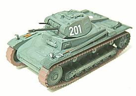 Panzer II, Sdkfz 121, Ausf. B. Light Tank. Trident 90330 New 1/87 Plastic Kit