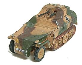 SdKfz 250/9 Light Half Track w/20mm Turret. Trident 90328 New 1/87 Plastic Kit