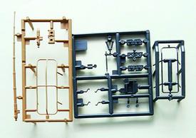 Radio Equipment. Trident 96038 New 1/87 Scale Plastic Kit Unassembled