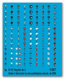 927 Stug Batteries