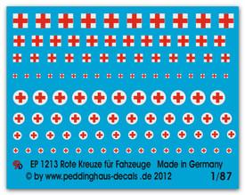 1213 Red crossess
