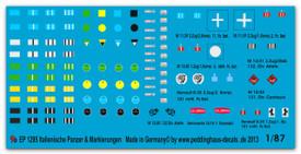 1295 Italian Tank & vehicle markings