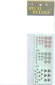 Egyptian, Syrian, Iraqi Insignia Decals, I-94 ME100. New 1/285 Scale