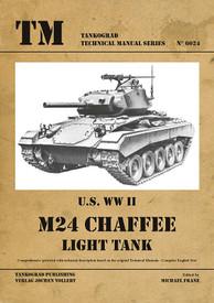 U.S. WW II M24 Chaffee Light Tank. Tankograd  #6024