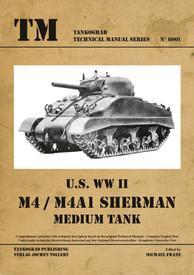 U.S. WW II M4, M4A1 Sherman. Tankograd #6001