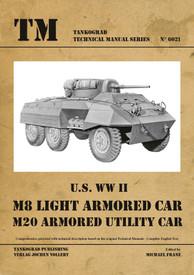 U.S. WW II M8/M20 Armored Cars. Tankograd  #6021