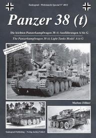Panzer 38 (t). Tankograd 4012 English and German Text