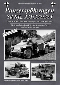 Panzersphwagen Sd.Kfz. 221/222/223 Wehrmacht Light 4-wheeled Armoured Cars and t