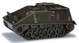 German BW Hotchkiss 81mm Mortar Carrier. Minitanks 217 Plastic 1/87 Kit